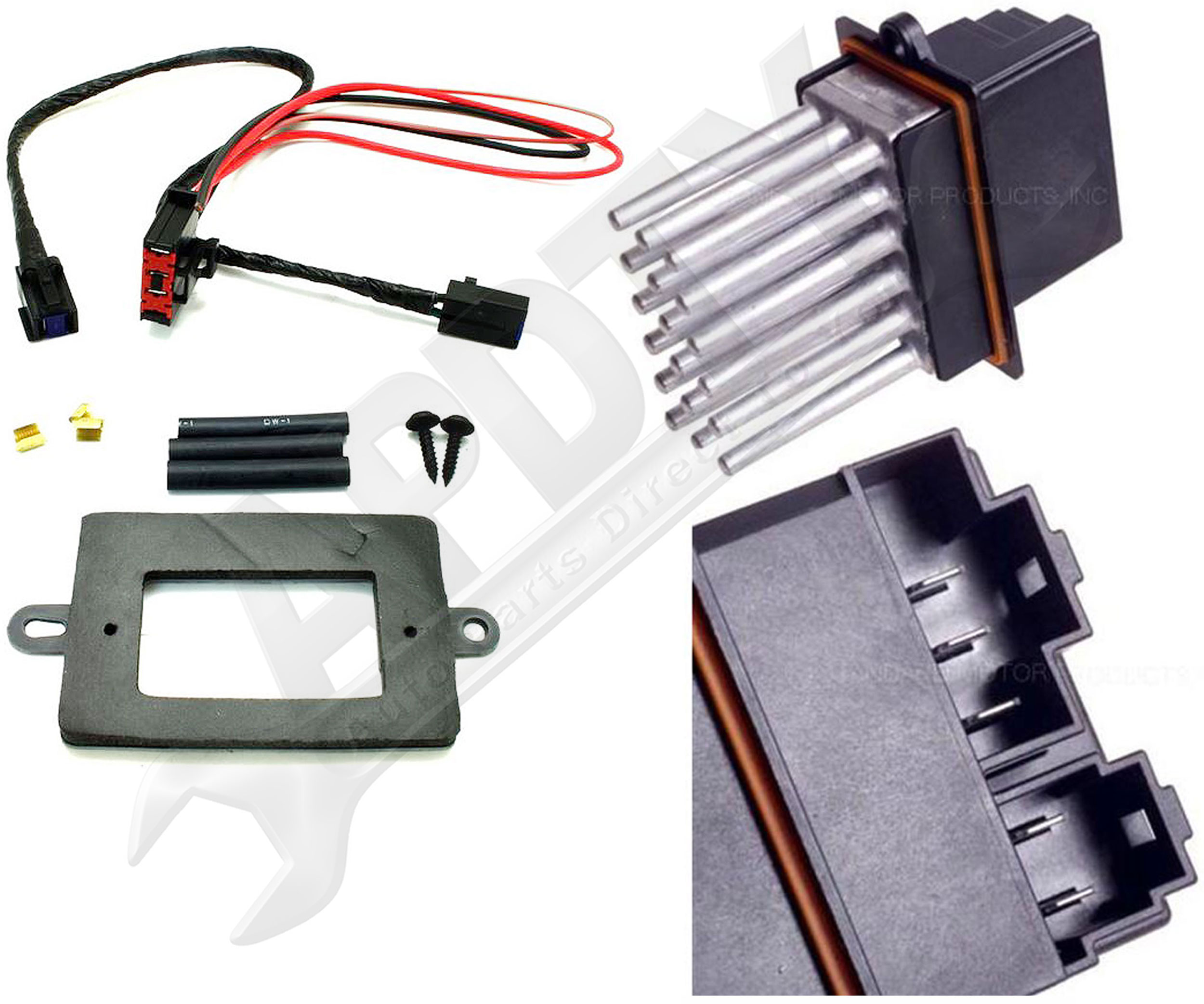 99 04 jeep grand cherokee oe blower motor resistor power for Blower motor only works on high speed