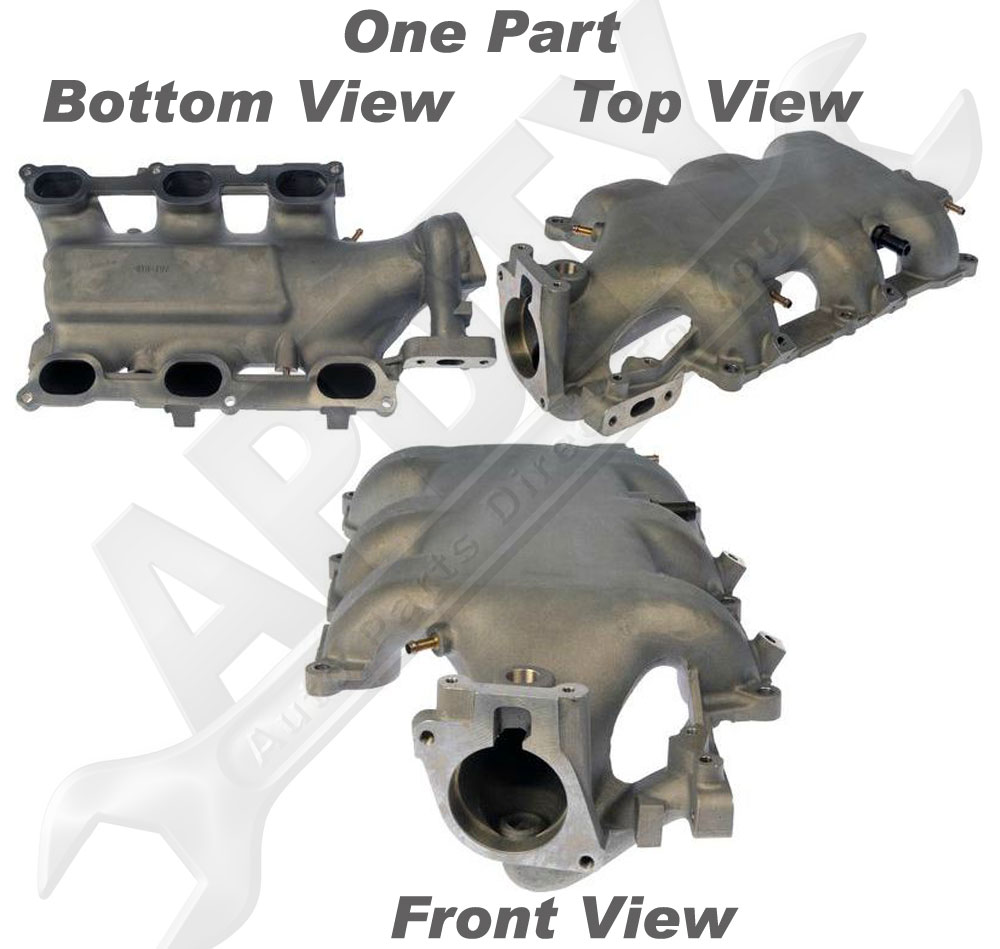 Aztec Chevrolet Buick Gmc In Beeville: APDTY 726208 Intake Manifold Plenum Assembly W/Gaskets 3