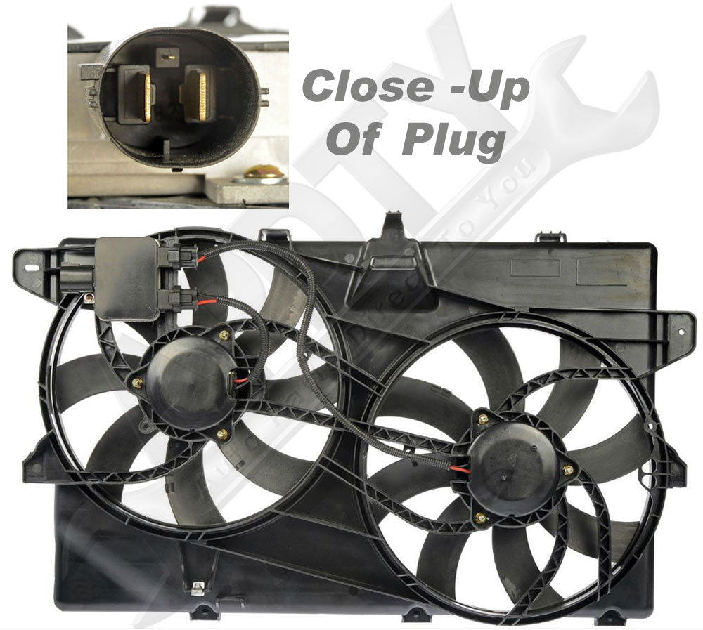 Apdty 732157 Radiator  U0026 Ac Condenser Cooling Fan Assembly W  Relay Control Module
